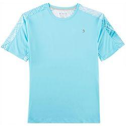 Reel Legends Mens Reel-Tec Fast Fronds Pieced T-Shirt