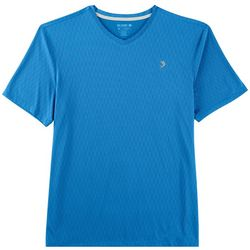 Reel Legends Mens Freeline Scale V-Neck T-Shirt