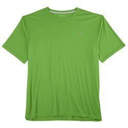 Reel Legends Mens Reel-Tec Contrast Stitching Crew T-Shirt