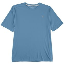 Reel Legends Mens Reel-Tec Solid Chest Logo T-Shirt