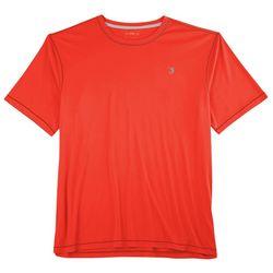 Reel Legends Mens Reel-Tec Flame Contrast T-Shirt