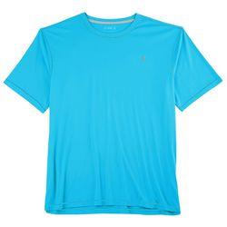 Reel Legends Mens Reel-Tec Contrast Stitched Crew T-Shirt