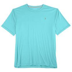Reel Legends Mens Reel-Tec Contrast Stitching T-Shirt