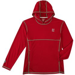 Reel Legends Mens Freeline Moto Contrast Trim Hoodie