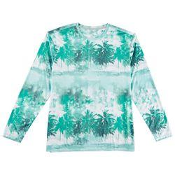 Reel Legends Mens Keep It Cool Beach Stripe T-Shirt