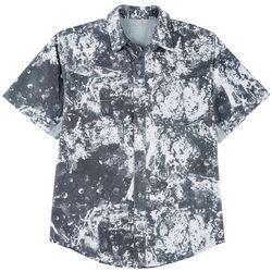 Reel Legends Mens Mariner II Splat Short Sleeve Shirt