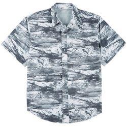 Reel Legends Mens Mariner II Splashline Short Sleeve Shirt