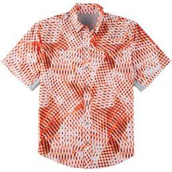 Reel Legends Mens Mariner II Digital Short Sleeve Shirt