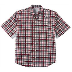 Reel Legends Mens Mariner II Plaid Print Shirt