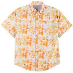 Reel Legends Mens Mariner II Surface Short Sleeve Shirt