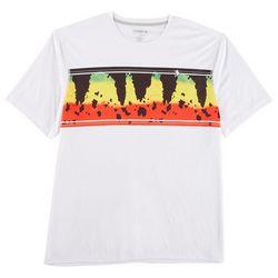 Reel Legends Mens Reel-Tec Rasta Bass T-Shirt