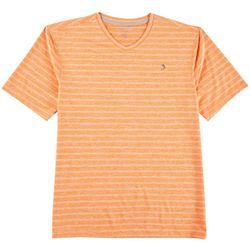 Reel Legends Mens Reel-Tec Tonal Stripe T-Shirt