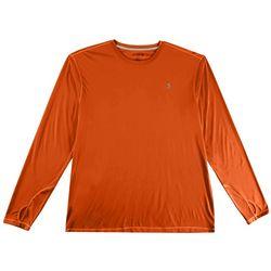 Reel Legends Mens Reel-Tec Solid Thumbhole T-Shirt