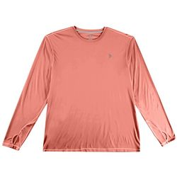 Reel Legends Mens Reel-Tec Solid Thumbhole T-Shirt