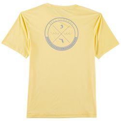 Reel Legends Mens Reel-Tec Wave Circle T-Shirt