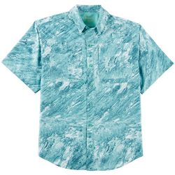Reel Legends Mens Saltwater Stoned Short Sleeve Shirt