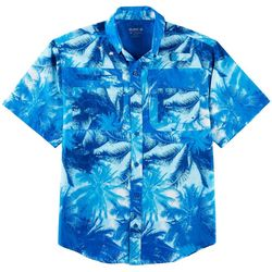 Reel Legends Mens Saltwater Hammock View Short Sleeve Shirt