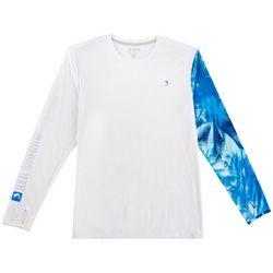 Reel Legends Mens Reel-Tec Moto-X Hammock View T-Shirt