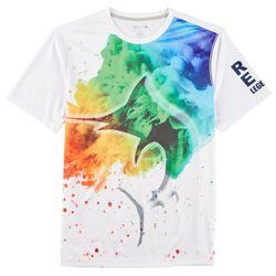 Reel Legends Mens Freeline Smoke Bomb Short Sleeve T-Shirt