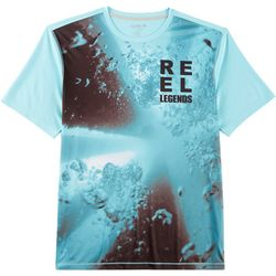 Reel Legends Mens Freeline Ink Water Short Sleeve T-Shirt
