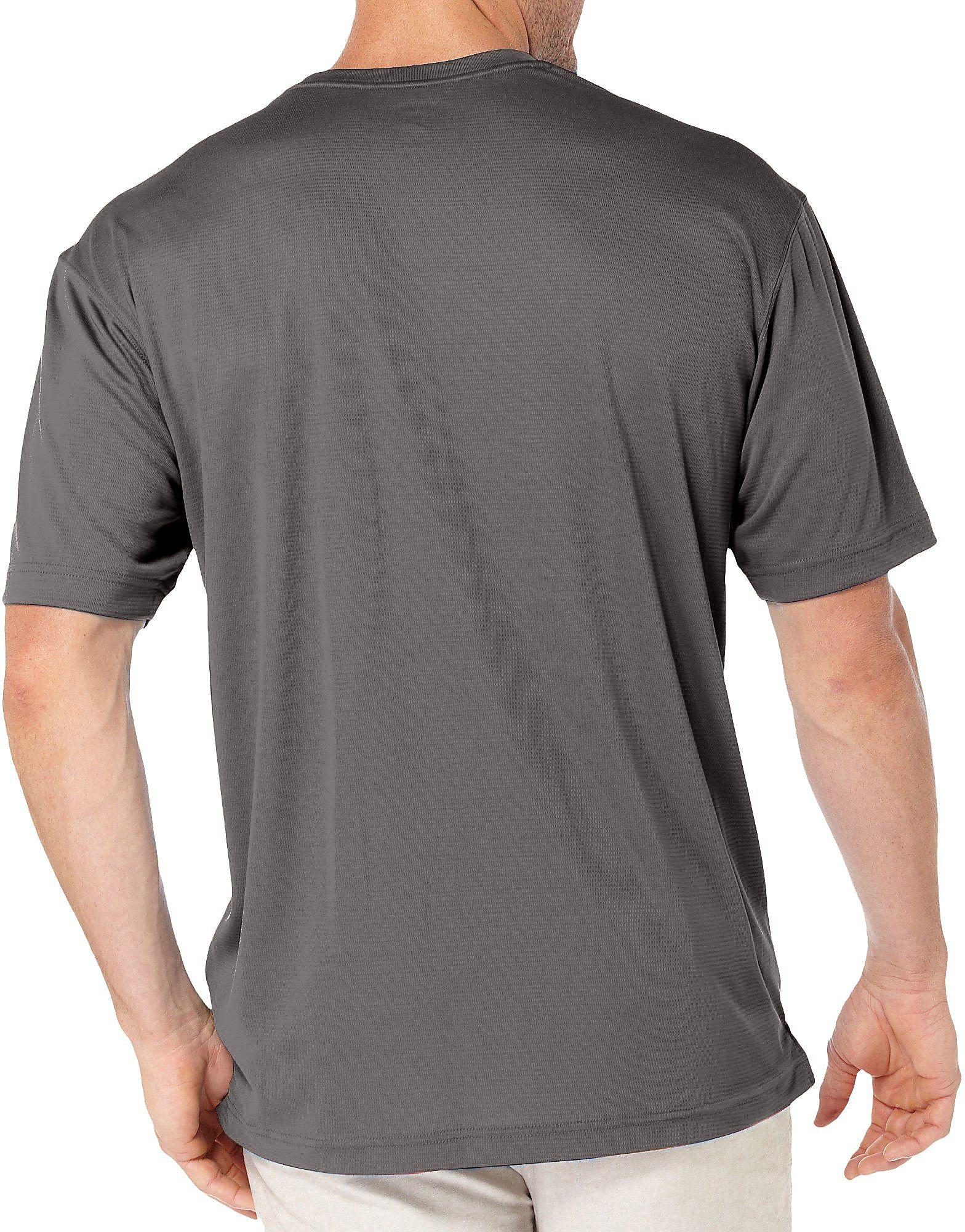Reel Legends Mens Freeline Long Sleeve Shirt X-Large Bungee Cord Beige