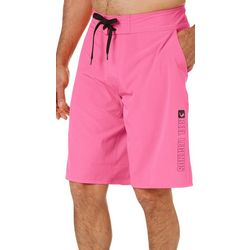 Reel Legends Mens Seahunt Solid Pocket Boardshorts