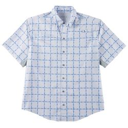 Reel Legends Mens Mariner II Skipjack Short Sleeve Shirt