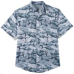 Reel Legends Mens Mariner II Tuna Short Sleeve Shirt