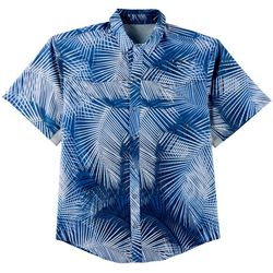 Reel Legends Mens Mariner II Fast Fronds Short Sleeve Shirt