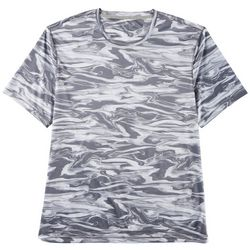 Reel Legends Mens Reel-Tec Sonic Waves T-Shirt