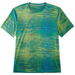 Reel Legends Mens Reel-Tec Scan Spirals T-Shirt