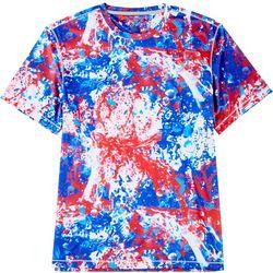 Reel Legends Mens Reel-Tec Splat Short Sleeve T-Shirt