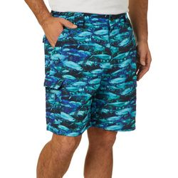 Reel Legends Mens Bonefish Reel Tarpon Shorts