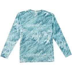 Reel Legends Mens Reel-Tec Stone Wasabi Short Sleeve T-Shirt