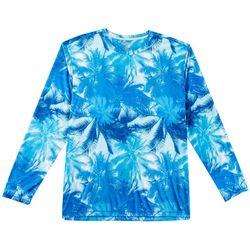 Reel Legends Mens Reel-Tec Hammock View Long Sleeve T-Shirt