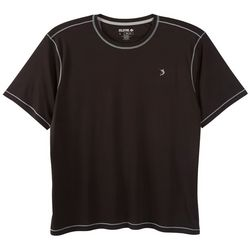 Reel Legends Mens Reel-Tec Black Contrast T-Shirt
