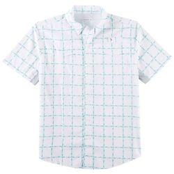 Reel Legends Mens Mariner Skipjack Shirt