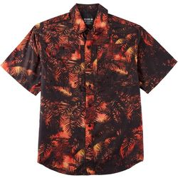 Reel Legends Mens Saltwater Mystery Palms Short Sleeve Shirt