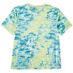 Reel Legends Mens Keep It Cool Marble Waters Shirt