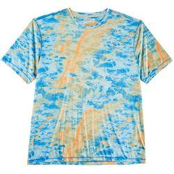Reel Legends Mens Keep It Cool Marble Water Shirt