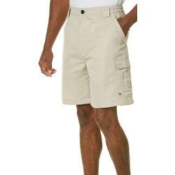 Reel Legends Mens Bonefish Debossed Shorts