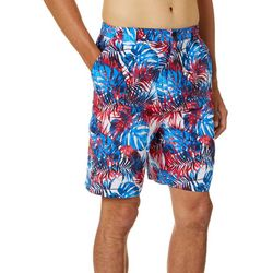Reel Legends Mens Bonefish Americana Palms Shorts
