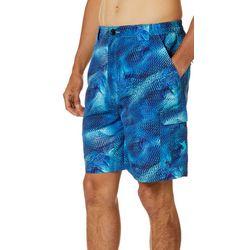 Reel Legends Mens Bonefish Crazy Fish Shorts