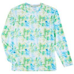 Reel Legends Mens Keep It Cool Surface Long Sleeve T-Shirt