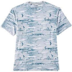 Reel Legends Mens Keep It Cool Swimming Wahoo T-Shirt
