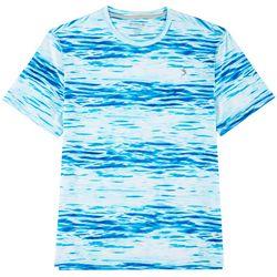 Reel Legends Mens Keep It Cool Waterlines T-Shirt