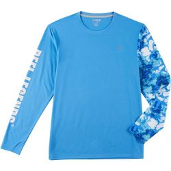 Reel Legends Mens Freeline Moto-X Shoreline Camo T-Shirt