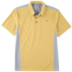Reel Legends Mens Freeline Colorblocked Polo Shirt