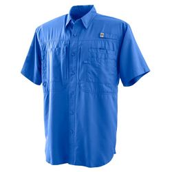 Reel Legends Mens Saltwater Short Sleeve Shirt