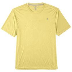 Reel Legends Mens Keep It Cool Offshore Debossed T-Shirt